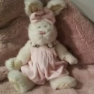 Boyds Bear Holiday - Boyds Bear PANSY ROSENBUNNY Bunny New w/Tags